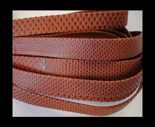 Snake Leather Cords-Flat-N9-10MM