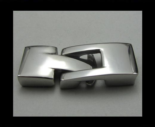 Stainless Steel Hook Clasp - MGST-24 - 10mm