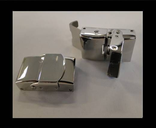 Stainless Steel Hook Clasp - MGST-47 - 12mm