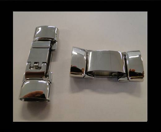 Stainless Steel Snap Lock Clasp - MGST-51