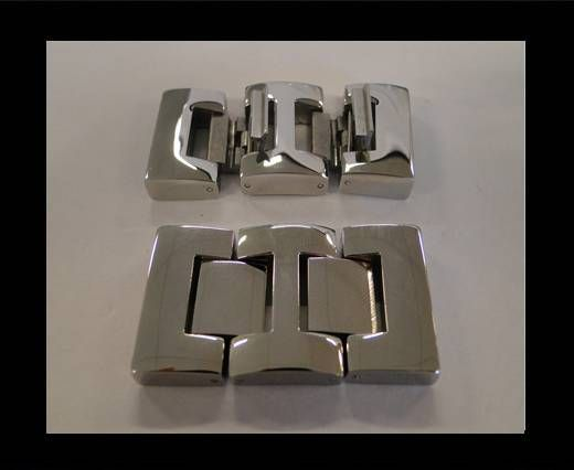 Stainless Steel Snap Lock Clasp -MGST-52