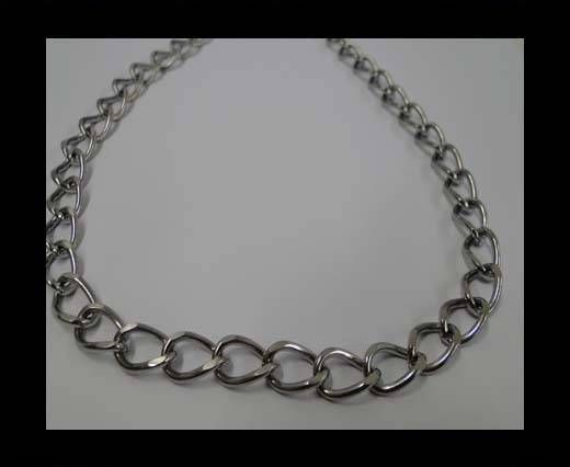 Stainless Steel Chain Item-37-1,6*8*11mm Steel