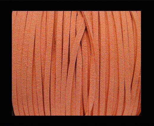 Corde en daim - Orange clair