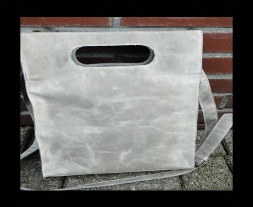 SUN-20640 -Shopping Bag with handle -Dark Vintage Brown