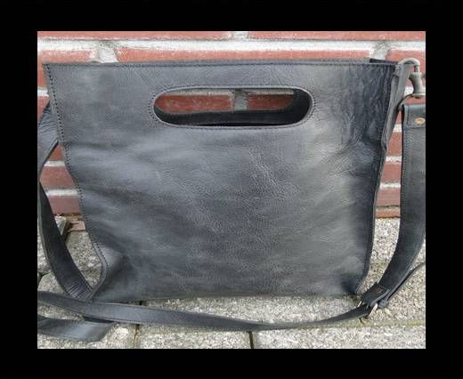 SUN-20705 -Shopping Bag with handle -Dark Vintage Grey