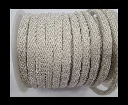 Swift Braided Cord without inner-White-6mm