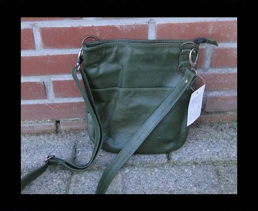 Vintage Leather Pluto Series-SUN-20501-Oily Olive Green