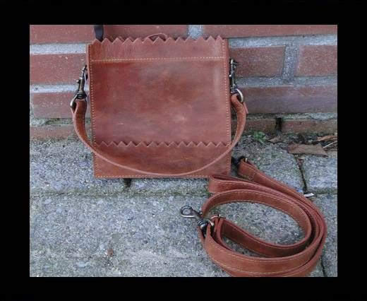 Vintage Leather Mercury Series Bag-20509-Distressed Tan