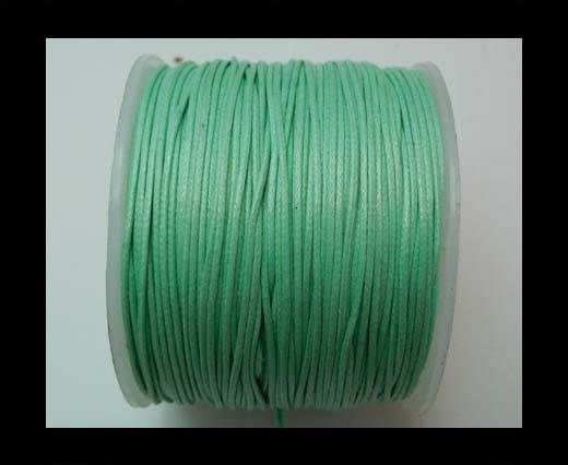 Wax Cotton Cords - 0,5mm - Aquamarine
