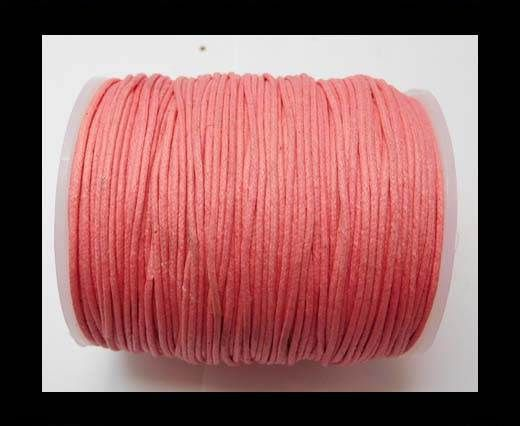 Wax Cotton Cords - 1mm - Pink