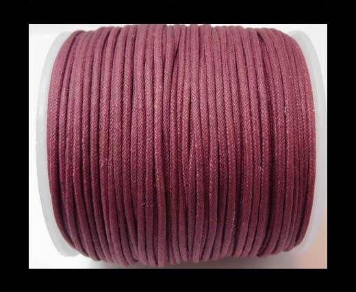 Wax Cotton Cords - 1,5mm - Burgundy