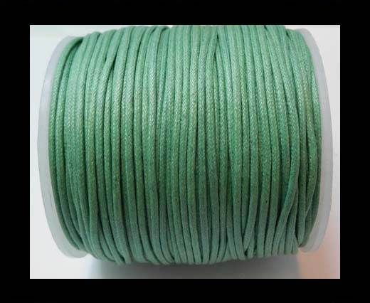 Wax Cotton Cords - 1,5mm - Sea Blue