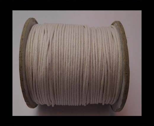Wax Cotton Cords - 1,5mm - White