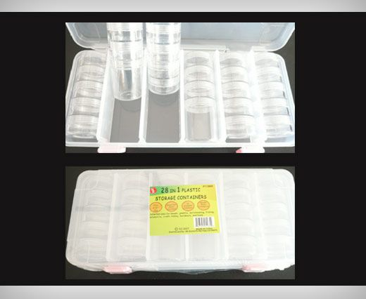 28 in 1 Plastic Storage Containers