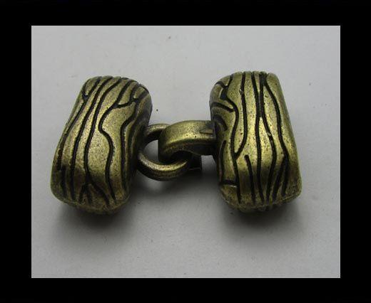Fermoirs pour cuir/corde - ZAML33
