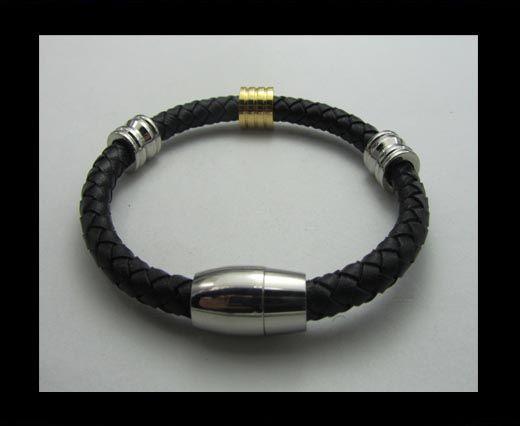 Bracelet en cuir - SUN-BO107