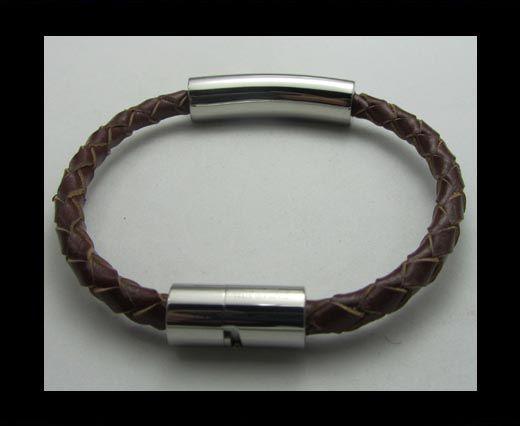 Bracelet en cuir - SUN-BO112