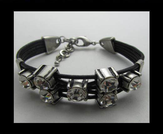 Bracelet en cuir - SUN-BO502