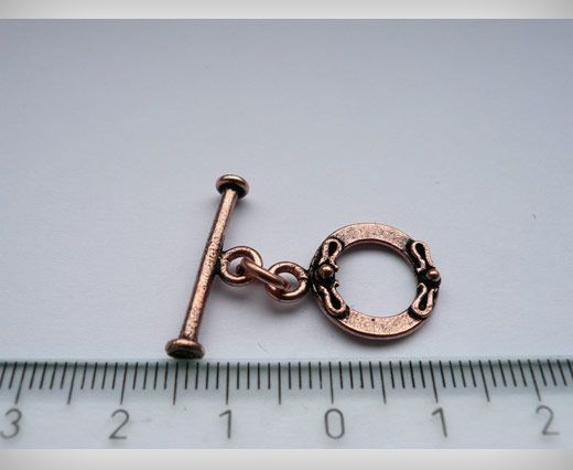 Antique Copper Toggles (Closures, S-Hooksetc)