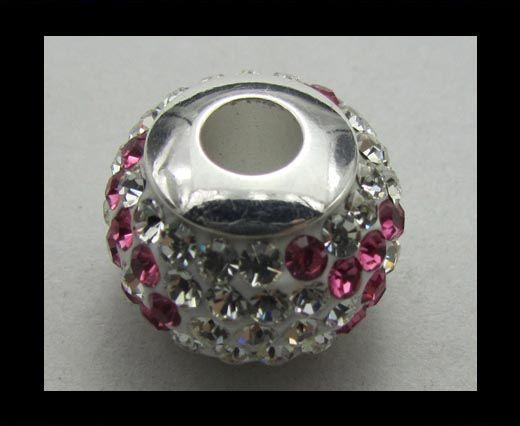 Crystal  Big Hole Beads CA-4240