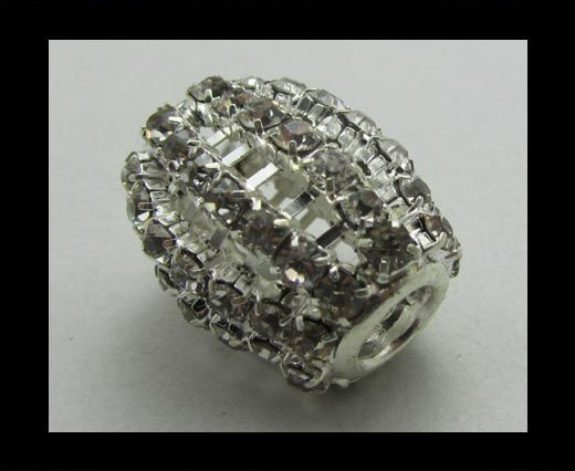 Crystal Big Hole Beads CA-4161