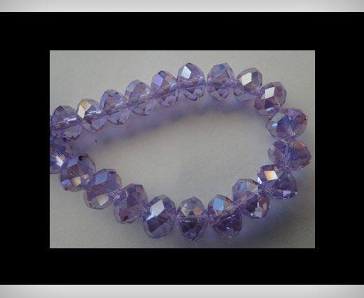 Faceted Glass Beads-18mm-Aqua-Marine-AB
