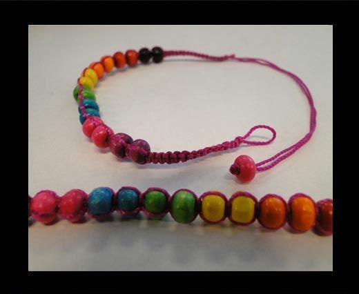 Bracelet en corde fantaisie - FJ01
