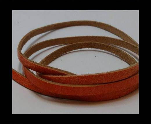Flat Leather Cords - Cow -width 4mm-27410 - SE. FBCW.12