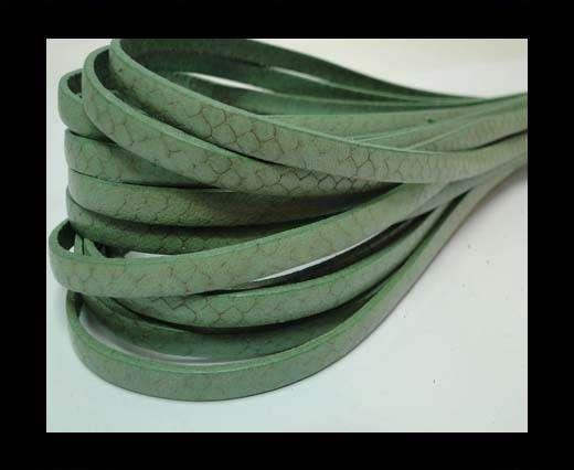 Flat Nappa Leather Snake Style 5MM - Acona