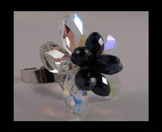 GBJ-Ring-Rose Crystal