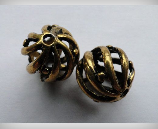 SE-1701-Gold Antique Large Sized Beads
