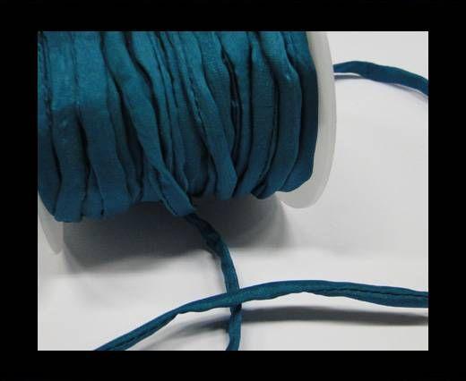 Habotai Silk Cord-Emerald