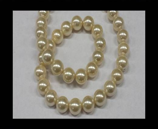 High quality pearls 10 mm Cream