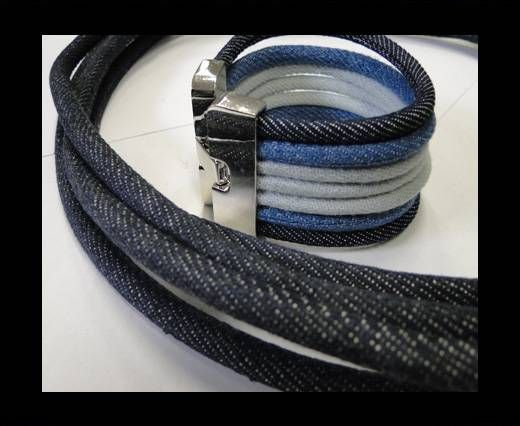 Jeans Cords-4mm-Dark blue style 3
