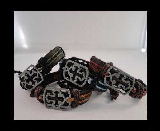 Bracelet en cuir - SUN-BO538