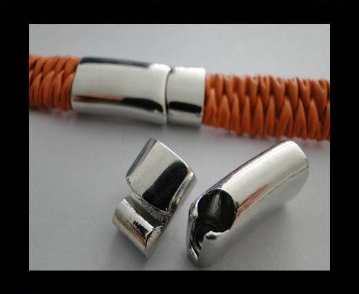 Fermoir magnétique pour cuir - MGL42 - 10.5*6mm