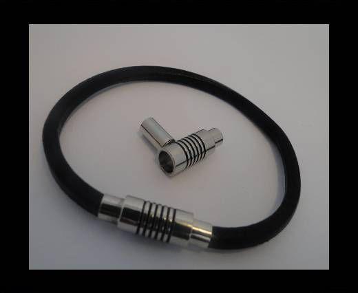 Fermoir magnétique pour cuir - MGL44 - 4mm
