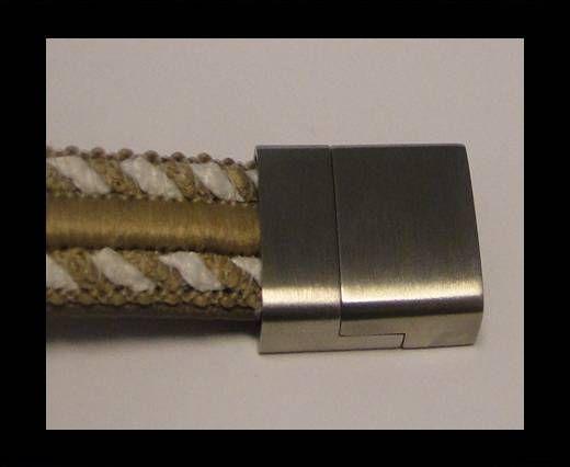 Fermoirs pour cuir/corde - MGST 80