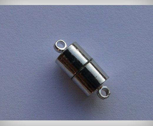 Fermoir magnétique - MG22 - 6mm - Argent
