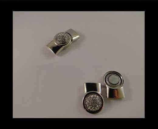 Fermoir magnétique pour cuir - MGL33 - 15*5mm
