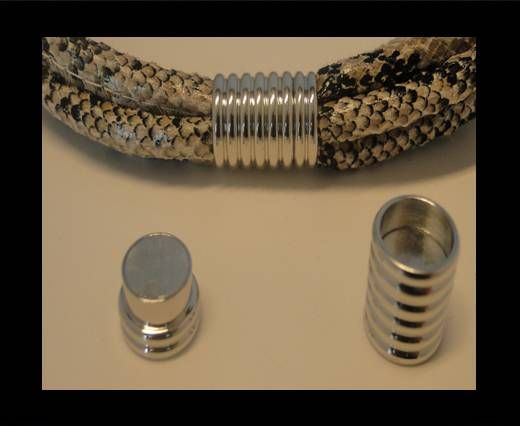 Magnetic Locks -MGL-124-10mm-Antique-Silver