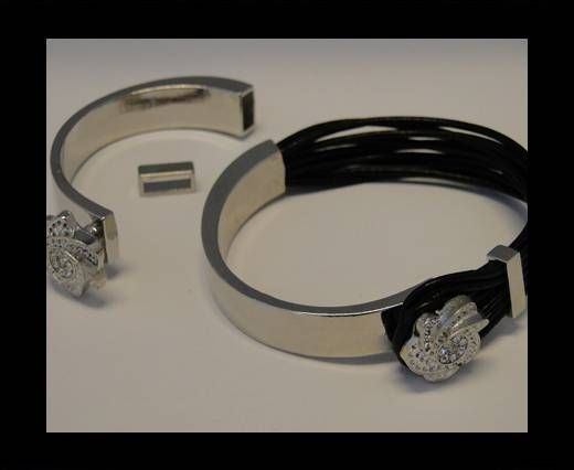 Fermoir magnétique pour cuir - MGL82 - 8*4mm