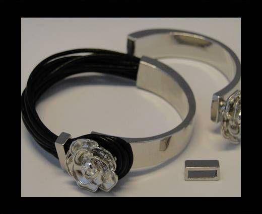 Fermoir magnétique pour cuir - MGL83 - 8*4mm