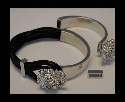 Fermoir magnétique pour cuir - MGL87 - 8*4mm