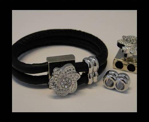 Fermoir magnétique pour cuir - MGL92 - 4mm