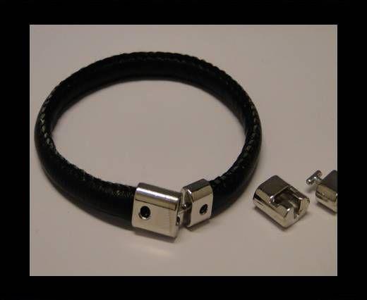 Fermoir magnétique pour cuir - MGL77 - 8*3.5mm