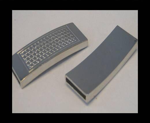 Fermoir magnétique pour cuir - MGL78 - 15*2.5mm
