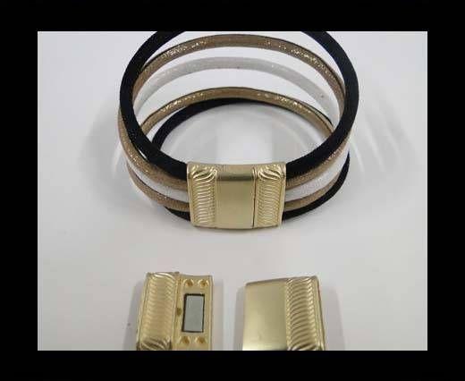 MGL-296-16*3mm-gold matt