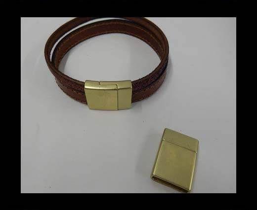 MGL-298-15*3mm-Matt Gold