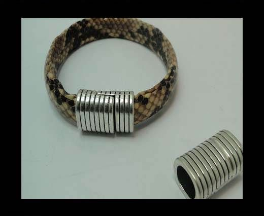 MGL-337-10*8mm-Antique SILVER